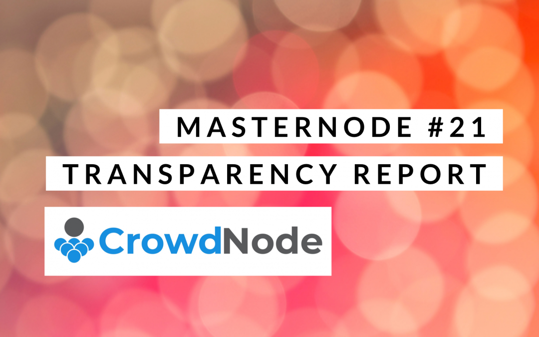 Monthly Transparency Report April 2019